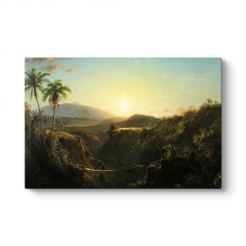 Frederic Edwin Church - Pichincha Tablosu