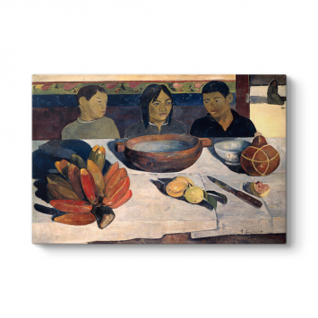 Paul Gauguin - The Meal Tablosu