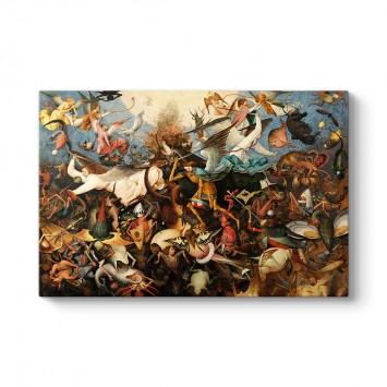 Pieter Brueghel - The Fall of the Rebel Angels Tablosu