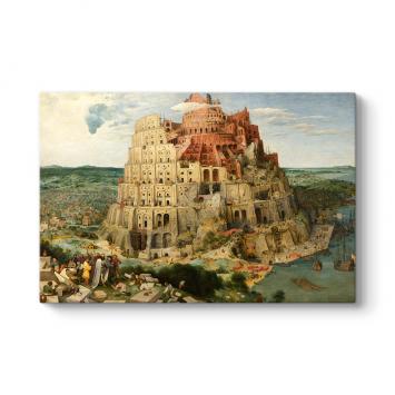Pieter Brueghel - Babil Kulesi Tablosu