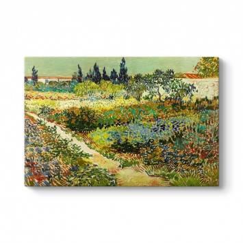 Vincent van Gogh - Garden at Arles Tablosu