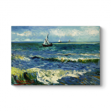 Vincent van Gogh - Saint Remy Deniz Tablosu