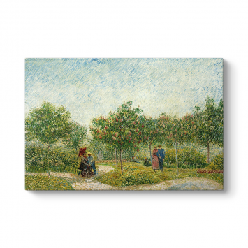 Vincent Van Gogh - Courting Couples Tablosu