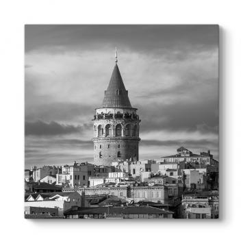 Galata Kulesi Sokak Tablosu