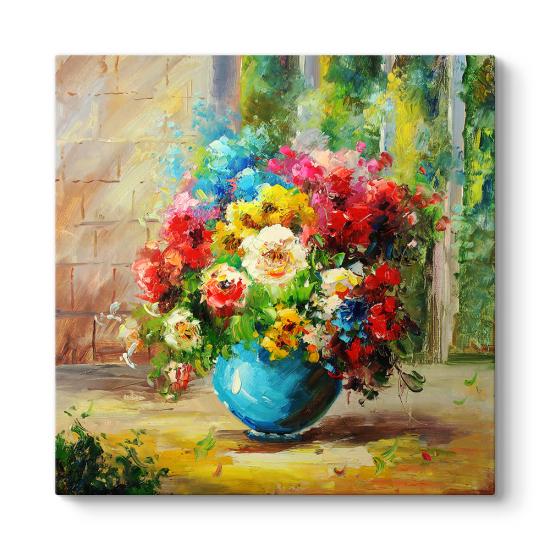 Çiçek Duvar Panosu