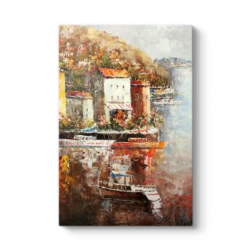 Liman Şehri Duvar Tablosu
