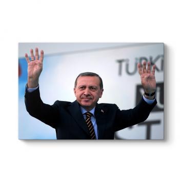 Recep Tayyip Erdoğan Rabia Tablosu