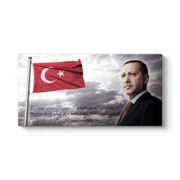 Başkomutan Recep Tayyip Erdoğan Tablosu