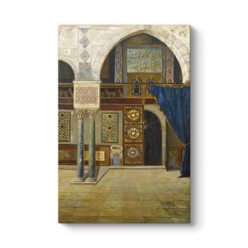 Abdülmecid Efendi - Camii Kapısı Tablosu