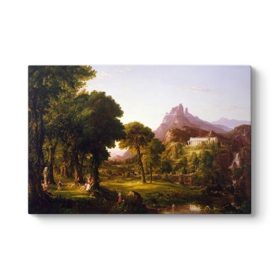 Thomas Cole - Dream of Arcadia Tablosu
