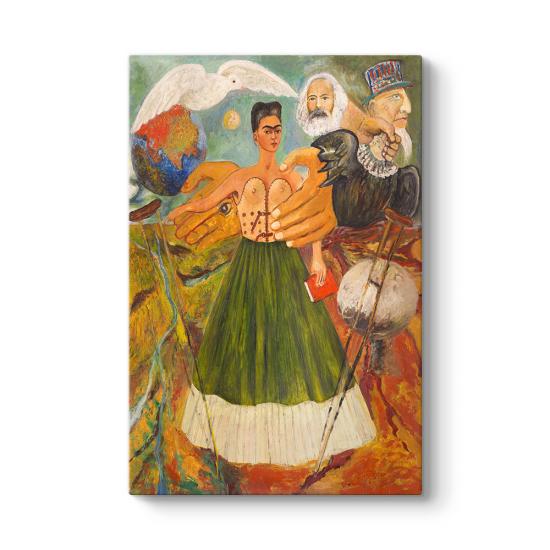Frida Kahlo - Marksizm Hastaya Sağlık Verecek Tablosu