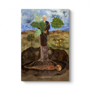 Frida Kahlo - Luther Burbank Tablosu