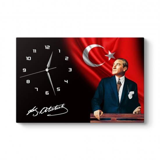 Mustafa Kemal Atatürk Tablo Saat