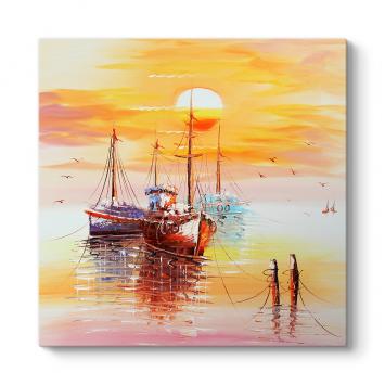 Günbatımı Tekneler Tablosu
