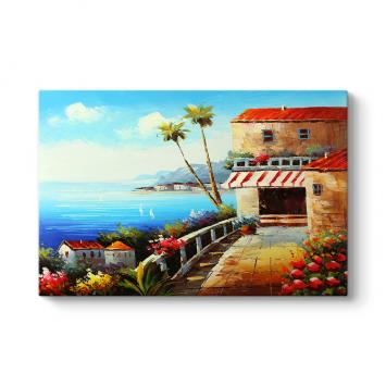 Deniz Manzaralı Ev Tablosu