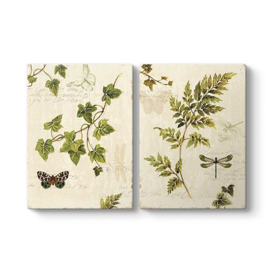 Kelebekler ve Ağaç Dalları Tablosu
