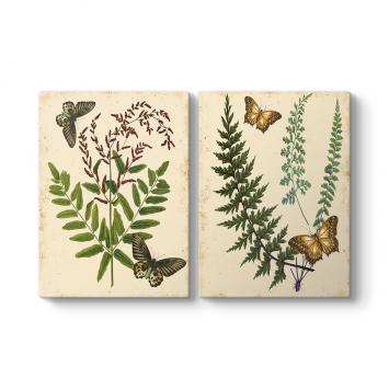 Kelebek ve Yapraklar Tablosu