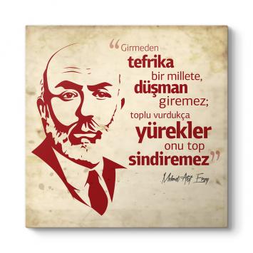 Mehmet Akif Ersoy Tablosu