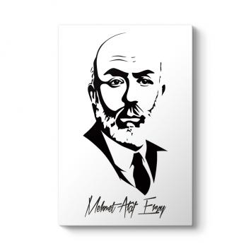 Mehmet Akit Ersoy Silüet Tablosu
