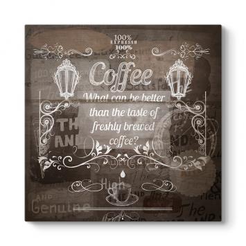 Vintage Kahve Tablosu