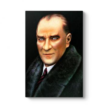 Atatürk Yağlı Boya Panosu