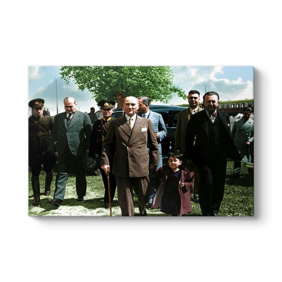 Atatürk ve Çocuk Tablosu