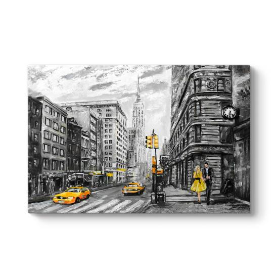 New York Caddeleri Tablosu