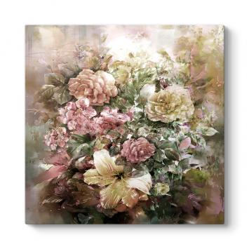 Soft Çiçek Buketi Tablosu