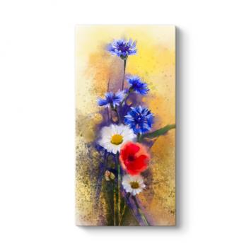 Kır Çiçekleri Tablosu