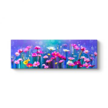 Işıltılı Çiçekler Tablosu