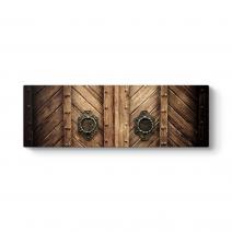 Ahşap Kahverengi Kapı Tablosu