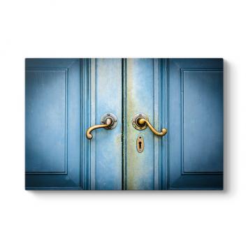 Eski Mavi Kapı Tablosu