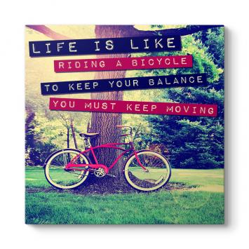 Hayat Gibidir Bisiklete Binmek Tablosu