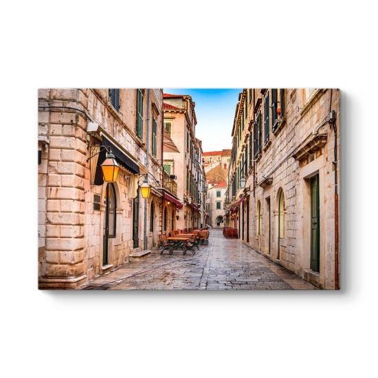 Dubrovnik Sokakları Tablosu
