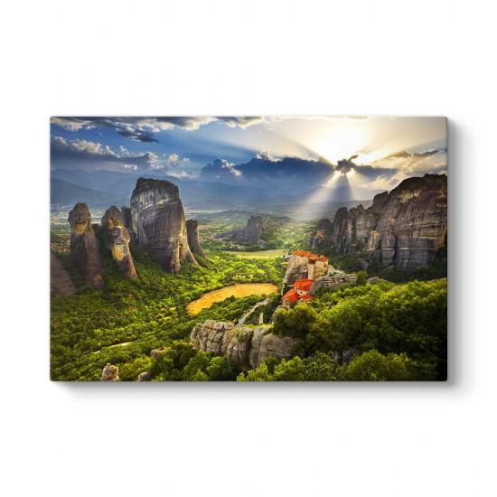Yunanistan - Meteora Tablosu