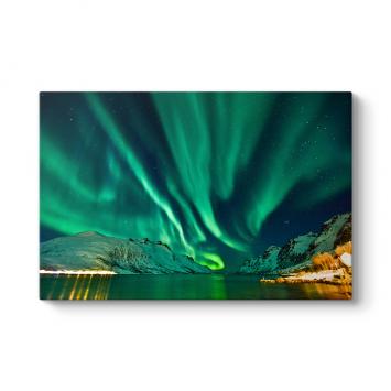 Kuzey Işıkları Aurora Tablosu