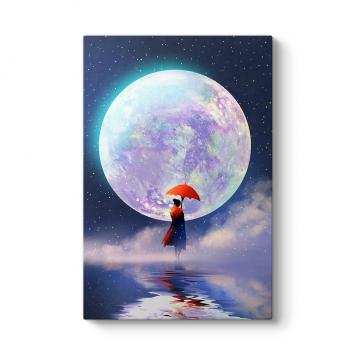 Muhteşem Ay ve Kadın Tablosu