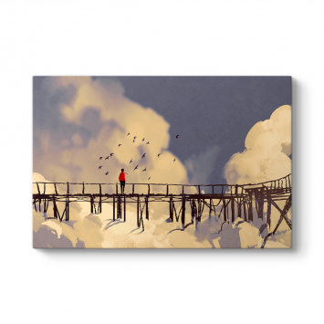 Bulutların Üzerinde Köprü Tablosu