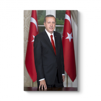 Recep Tayyip Erdoğan Portre Tablosu