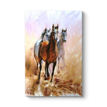 Koşan Atlar Tablo