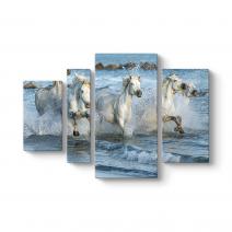 Sahilde Koşan Atlar Tablosu