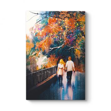 Romantik Yürüyüş Tablo