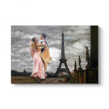 Paris'te Son Tango Tablo