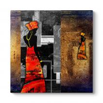 Afrikalı Kadın Tablosu
