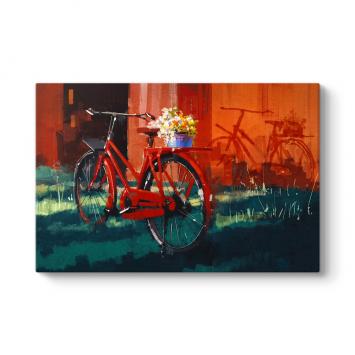 Kırmızı Bisiklet Tablo