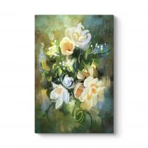 Bahar Çiçekleri Tablosu