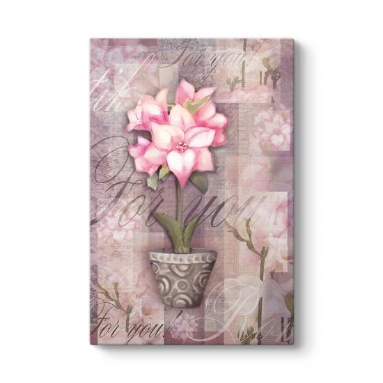 Alstroemeria Çiçeği Tablosu