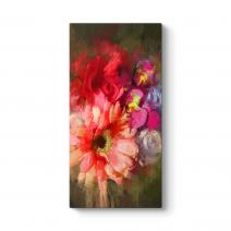 Buket Çiçekler Tablosu