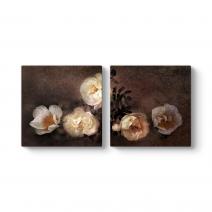 White Floral Tablosu