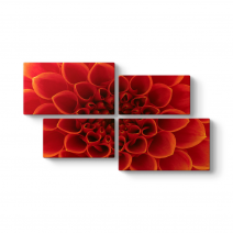 Çiçek ve Güzel Yaprakları Tablosu